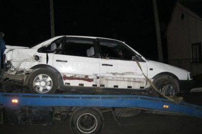 На Львівщині поїзд збив автомобіль