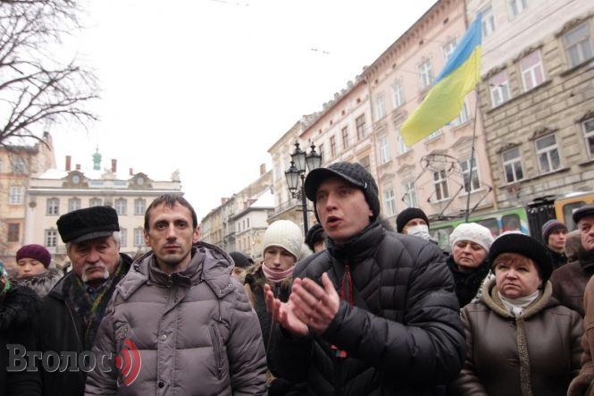 У Львові громада взялась організовувати революцію
