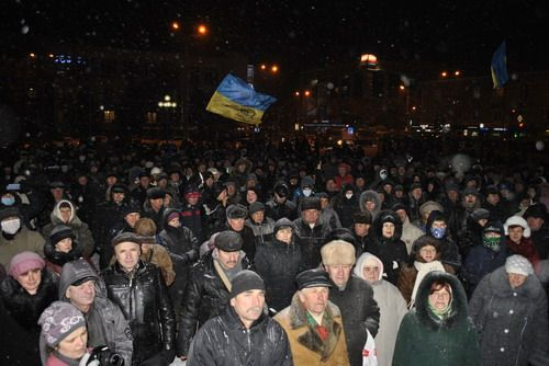 У Рівному повна мобілізація на Київ