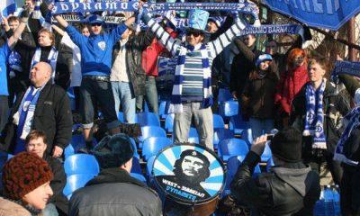 Футбольні фанати в Росії підтримали Україну