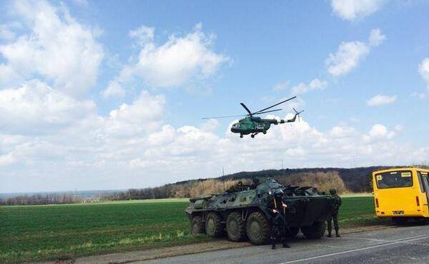 Антитерористична операція в Слов'янську (ФОТО).