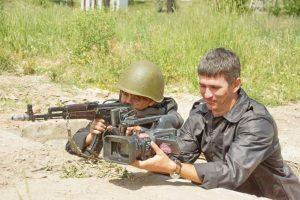 Рівненські журналісти відчули себе військовослужбовцями