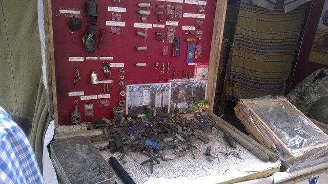 Музей Майдану: зброя силовиків
