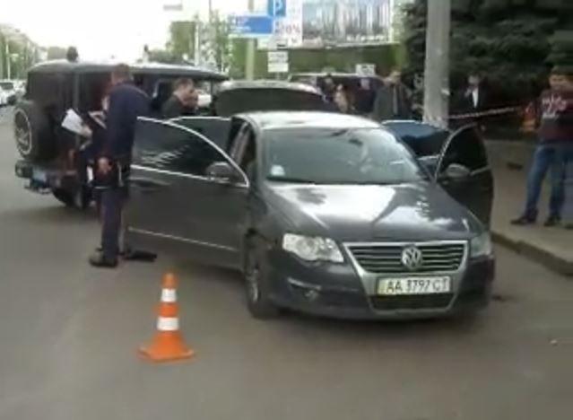Стрілянина у центрі Чернігова