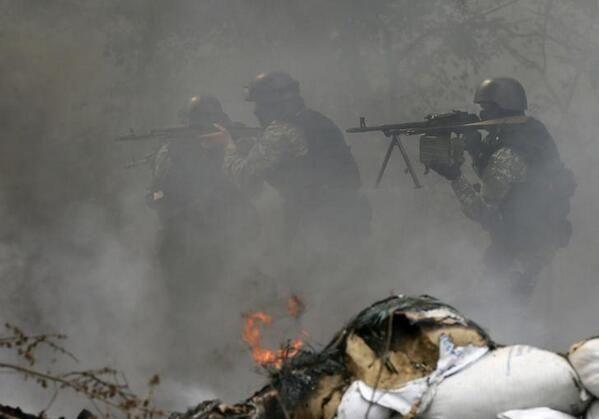 На Слов`янськ подув антитерористичний вітер змін 24 Квітня у Слов'янську розпочалася антитерористична операція. У ході проведення підрозділами МВС та МО деблоковані і знищені 3 блокпоста незаконних збройних