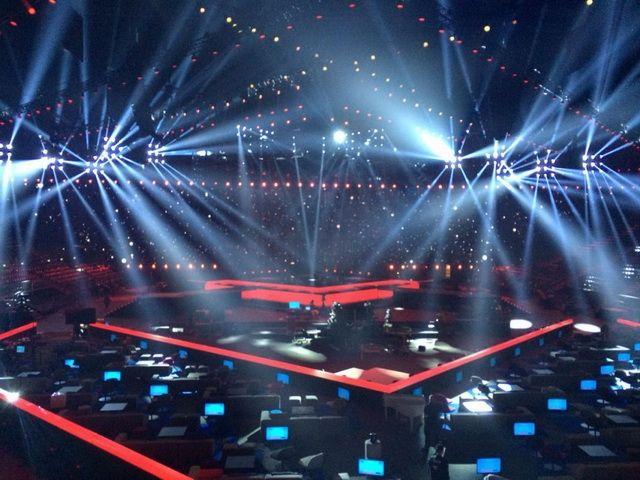 Cьогодні у Данії стартує Євробачення 2014 року, Презентовано сцену міжнародного конкурсу «Євробачення – 2014»