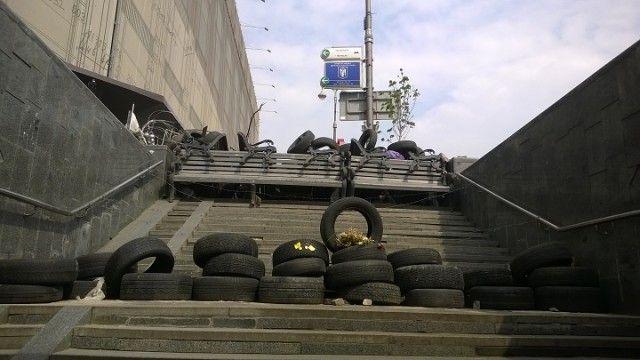 Підземний перехід вул. Богдана Хмельницького (перехрестя з вул. Хрещатик)