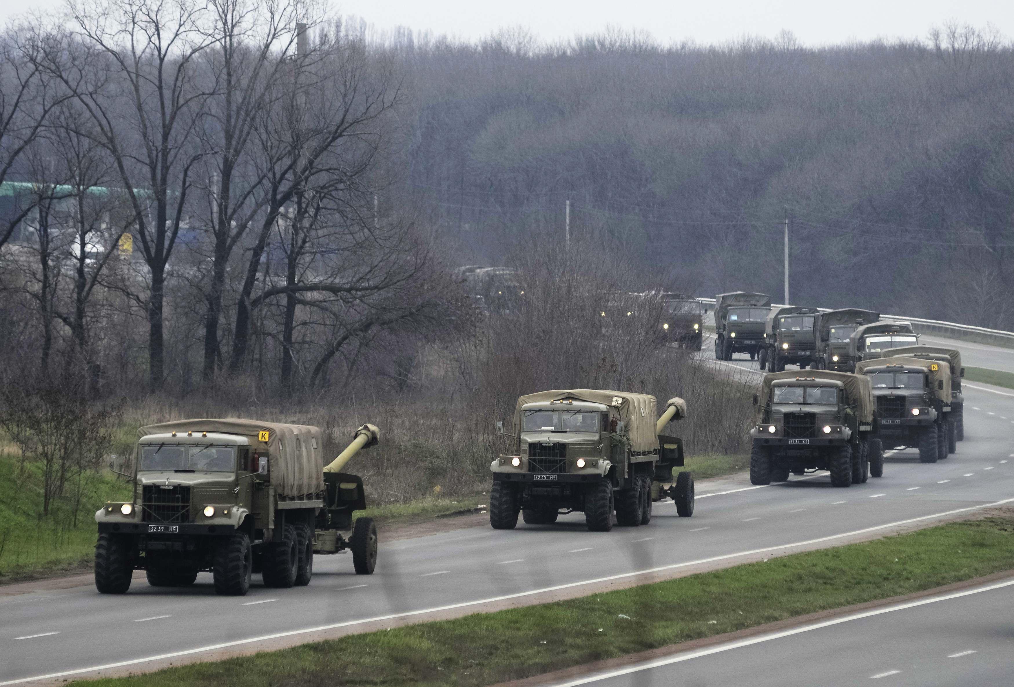 Антитерористична операція у Слов'янську прейшла в активну фазу (відео)