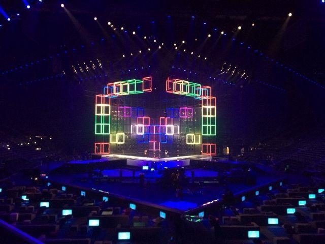Презентовано сцену міжнародного конкурсу «Євробачення – 2014»