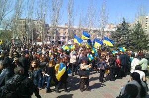 Тисячі луганчан підтримали єдність України