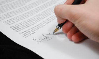 документ підпис угода