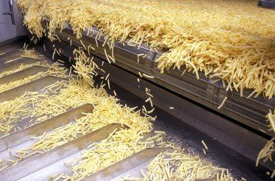 Виготовлення картоплі фрі на Рівненщині