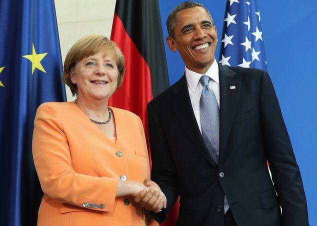 Обама і Меркель знову товаришують проти Путіна