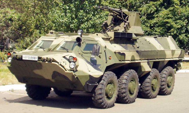 Буцефал – БТР-4 стає на озброєння Нацгвардії