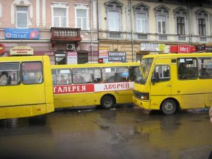 Найбезглуздіший пішохідний перехід у центрі Івано-Франківська