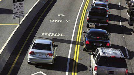 В США водій використав манекен для об'їзду пробок