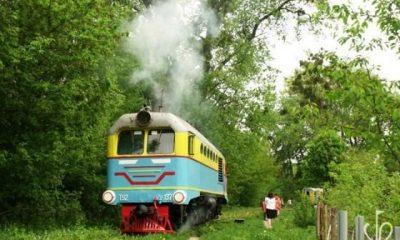 У Рівному відновили дитячу залізницю