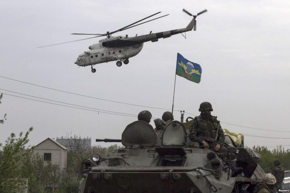 Бій за Слов'янськ (ФОТО)