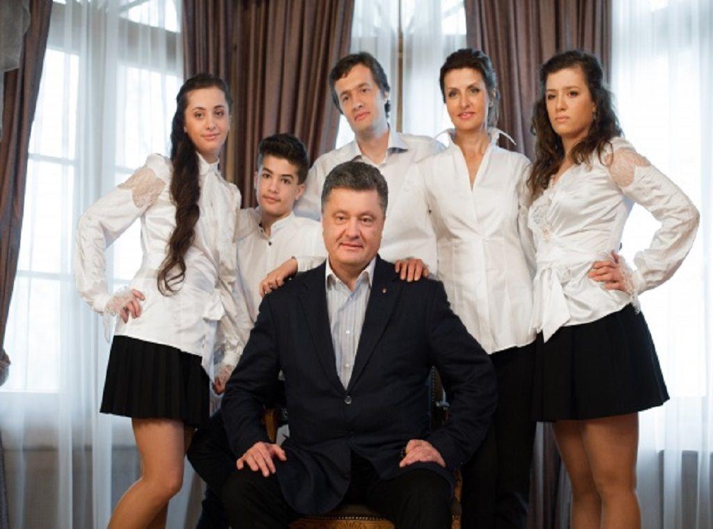 Ексклюзивні фото сім'ї Президента Петра Порошенка