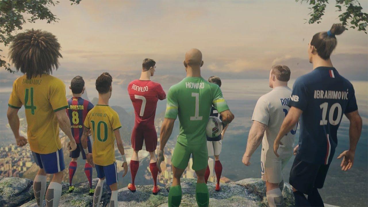 Реклама Чемпіонату Світу із футболу,- Nike