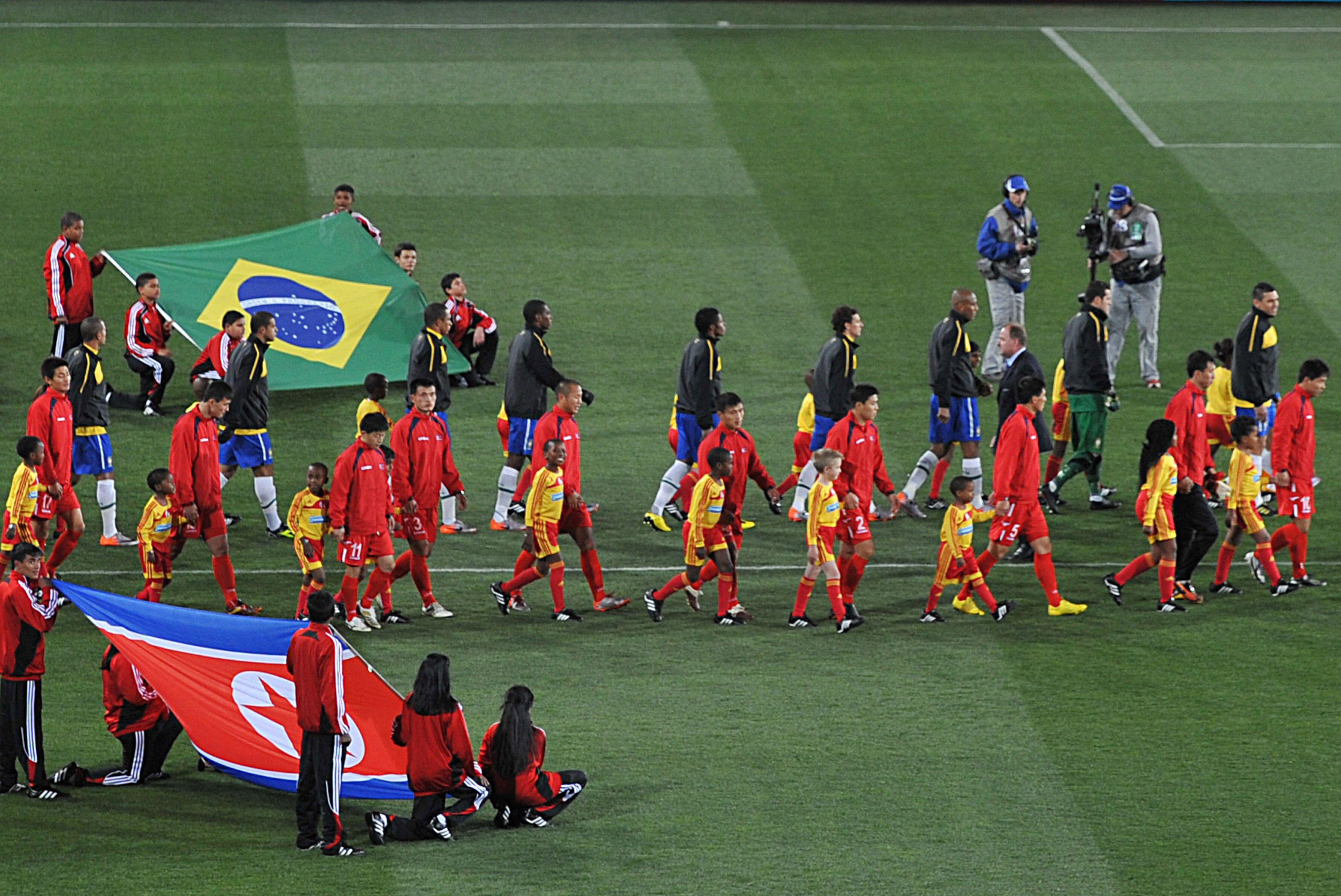 Північна Корея обіграла Бразилію – 8:1. Відео