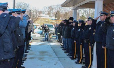 Поліція США провела в останню путь свого пса-героя