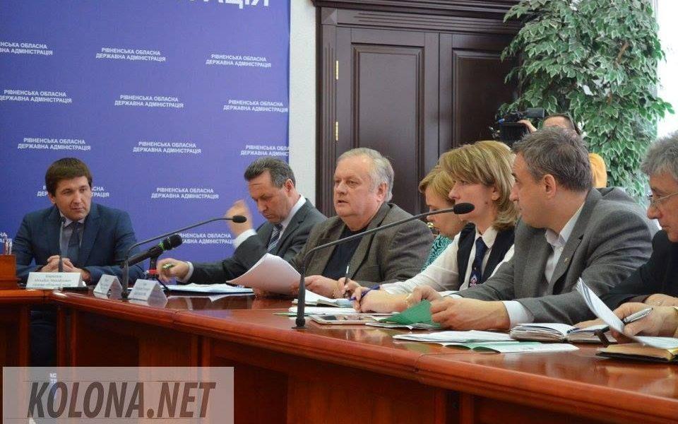 В Ровно реформаторы беседовали с чиновниками