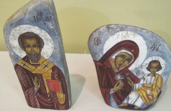 Виставку Ікони на камені 26 травня представили в Українському Католицькому університеті у Львові