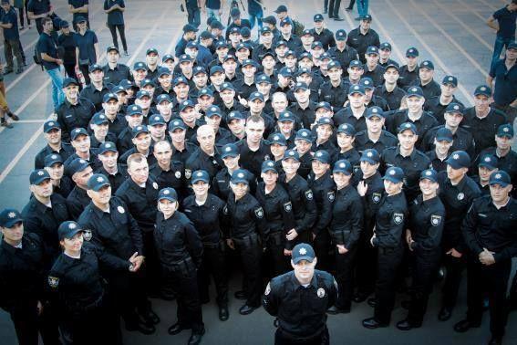 У Києві представили нову патрульну службу (ФОТО)