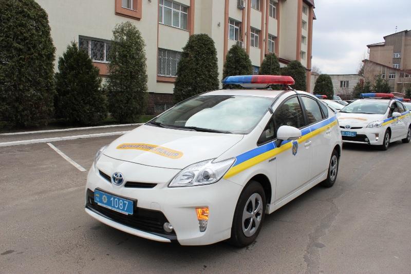 авто працівника міліції