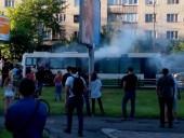 У Львові ввечері 16 червня загорілася маршрутка