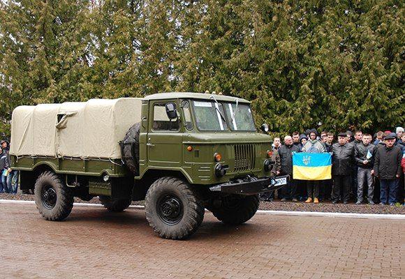 Військові автомобілі та БРДМи для АТО