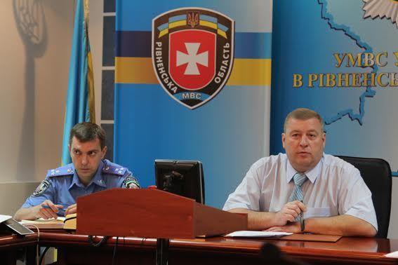 На Рівненщині новий начальник слідчого управління (ФОТО)
