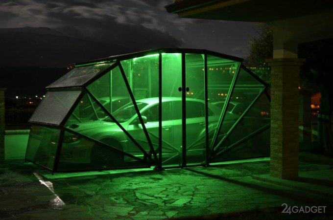 Універсальний гараж GazeBox зі складною конструкцією