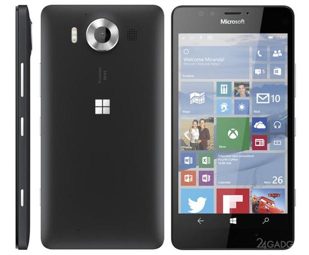 У мережі з'явилися прес-рендери Lumia 950 і Lumia 950 XL (2 фото)
