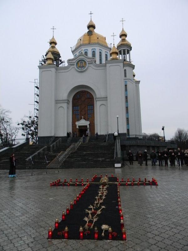 У Рівному вшанували жертв Голодомору