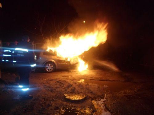 Рівненському активісту спалили автомобіль