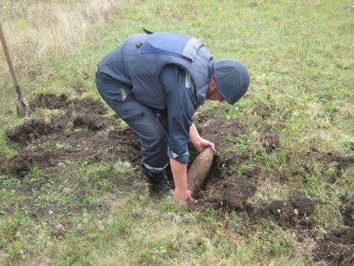На Рівненщині знешкодили 6 снарядів
