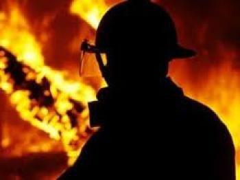 На Рівненщині спалахнула велика пожежа