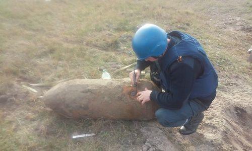 На Рівненщині було знешкоджено авіаційну бомбу