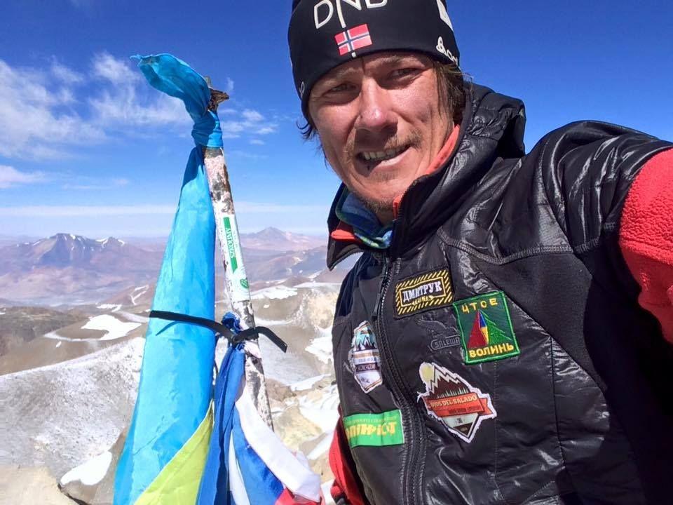 Волинські альпіністи підкорили найвищий вулкан світу