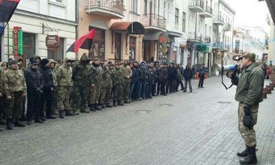 Праві пікетують поліцію Тернопільщини