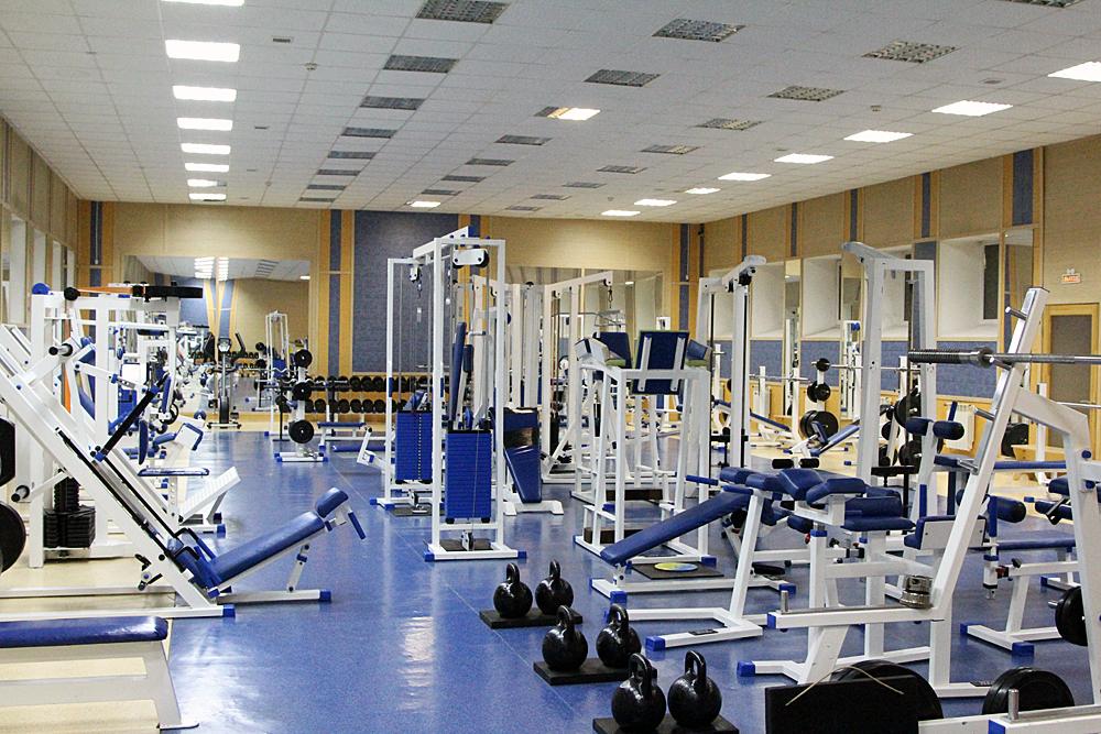Тренажерний зал, спортзал