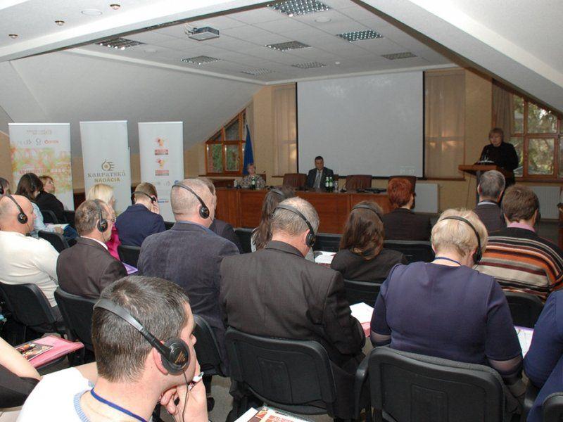 Закарпаття говорило про децентралізацію в Словаччині