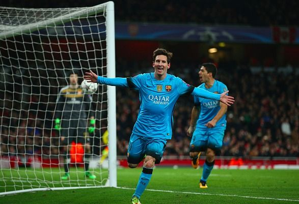 Арсенал Барселона: дубль Месси і победа на выезде (+ВИДЕО)
