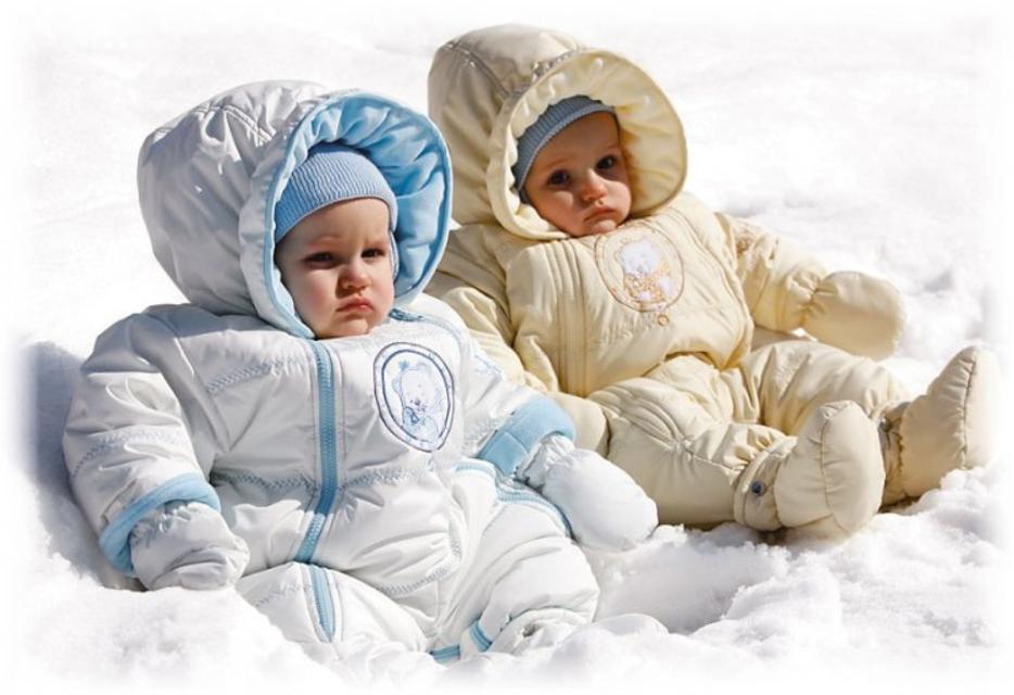 Дитина взимку