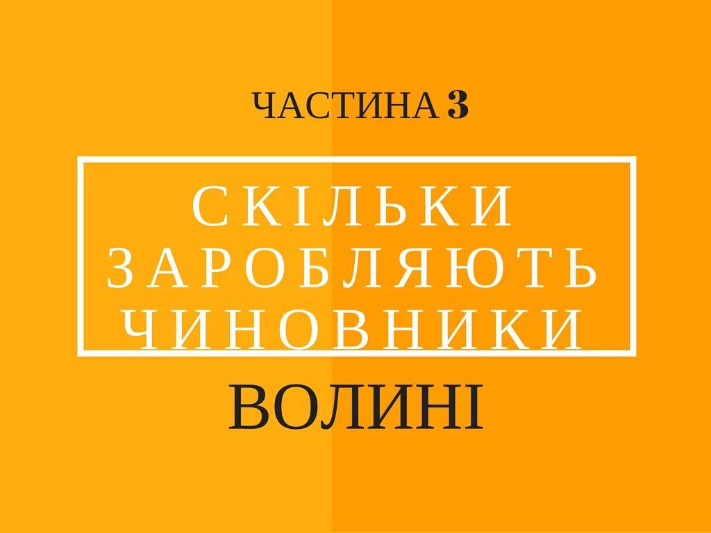 Скільки заробляють керівники районних адміністрацій Волині - ЧАСТИНА 3