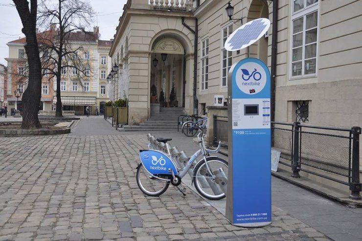 У Львові запрацював муніципальний велопрокат – перший в Україні