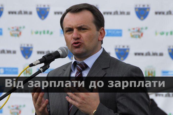 Губернатор Львівщини Олег Синютка живе лише на зарплату: декларація (Інфографіка)