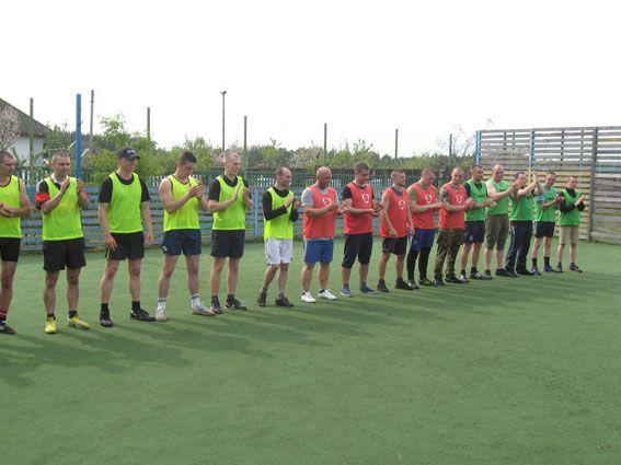 Футбольна команда поліції Рівненщини посіла друге місце (ФОТО)